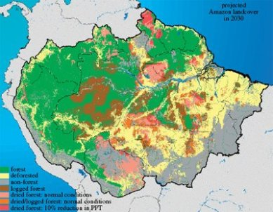 projected landcover in 2030